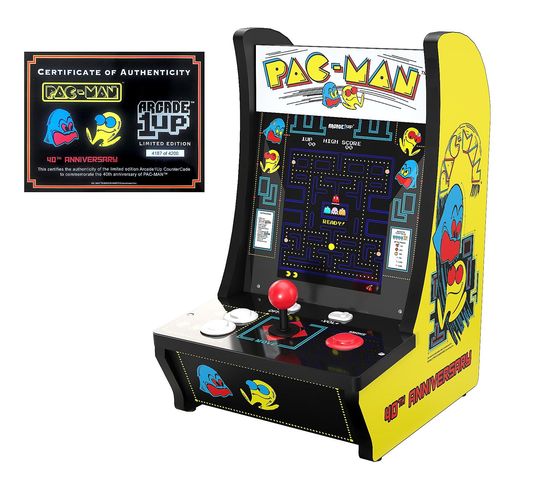 Arcade1Up 2 Game Countercade Special Edition Arcade Machine