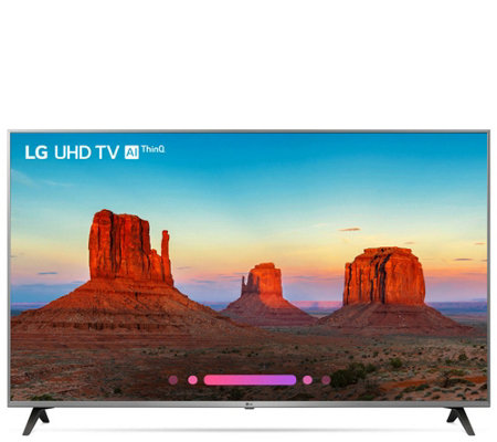 "LG 65"" UK7700 4K HDR Smart UHD TV with LG AI ThinQ"