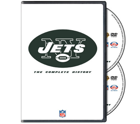 NFL History of the New York Jets 2-Disc DVD Set