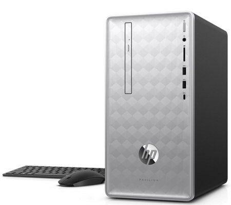 HP Pavilion Desktop - Core i5, 8GB RAM, 1TB HDD& Voucher