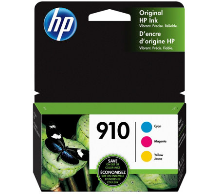 Hp 910 3 Pack Cyan Magenta Yellow Original Inkcombo
