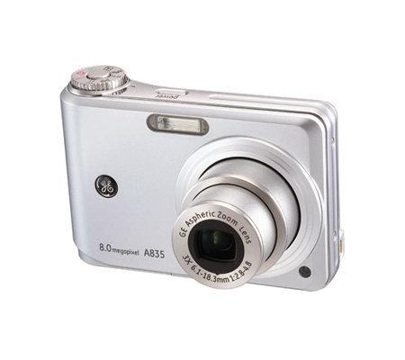 ge a835 8mp digital camera with 3x optical zoom silvertone qvc com rh qvc com Owner's Manual User Manual PDF