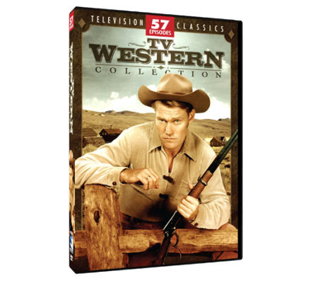 TV Westerns Collection - 57 Episodes, 4 Disc DVD Set