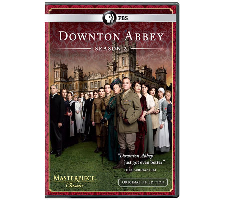 Downton Abbey Season 2 Three-Disc DVD Set