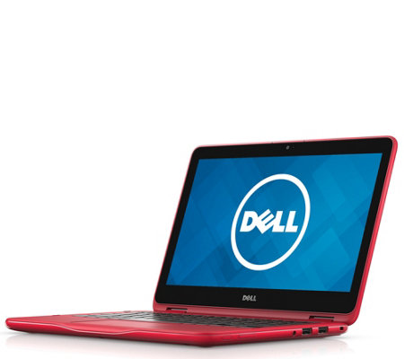 "Dell 11.6"" Inspiron 2-in-1 Laptop - AMD A9, 4GBRAM, 500GB HDD"