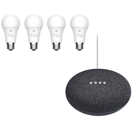 C by GE Smart Bulbs 4-Pack with Google Mini