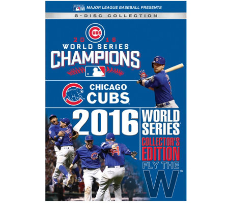 Chicago Cubs 2016 World Series DVD CollectorsSet