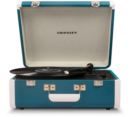 Crosley Radio Portfolio Portable Turntable