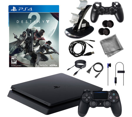 PS4 1TB Core Console with Destiny 2 andAccessories