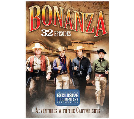 Bonanza Adventures With The Cartwrights 32episodes Dvd