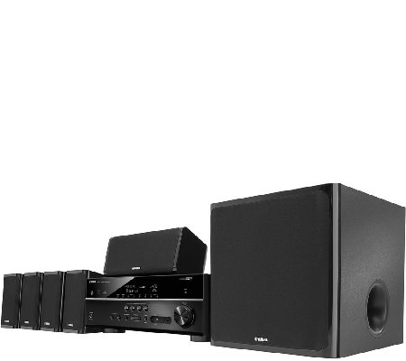Yamaha 5.1 Channel Home Theater System w/ Built-in Wi-fi