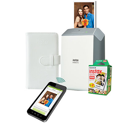 Fujifilm Instax SHARE Smartphone Printer with 20-Pack Film