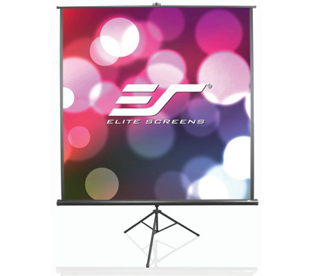 "Elite Screens 136"" TriPod B Series Portable Screen"