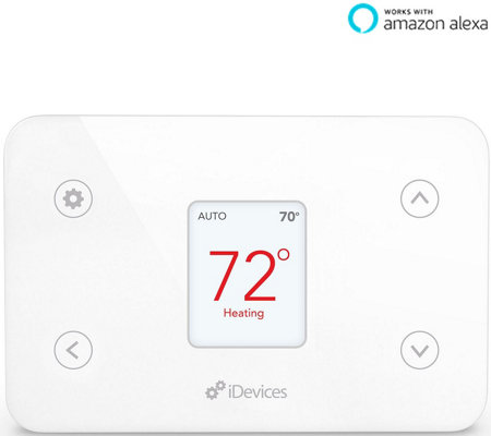 iDevices Smart WiFi Thermostat Remote Control Works w/ Alexa, Apple Homekit