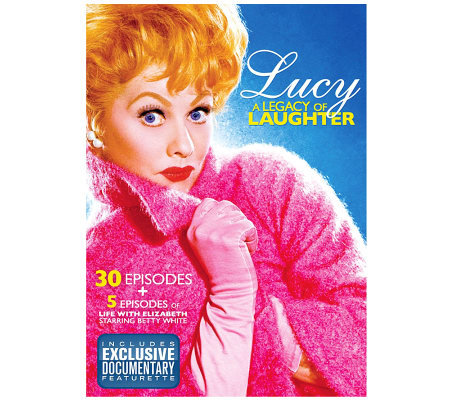 Lucy - A Legacy of Laughter - 30 Episodes and Documentary DVD