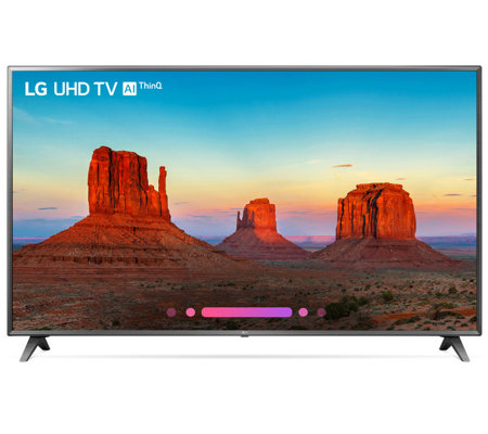 "LG 75"" Class 4K HDR Smart LED AI UHD TV withThinQ"