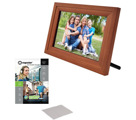 Icozy 10 Wi Fi Picture Frame With Software Voucher