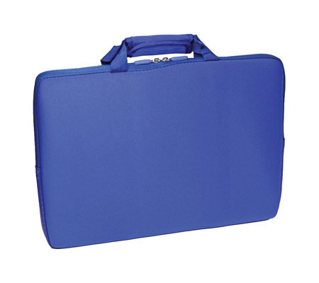 "15.6"" Notebook Sleeve with Lycra Exterior Shell- Ice Blue"