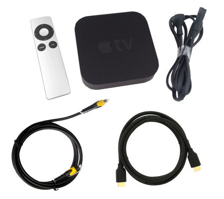 Apple TV Bundle with HDMI & Optical Cable