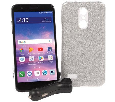 Tracfone Lg Premier Pro 5 3 Smartphone W Case 1500 Min Text Data