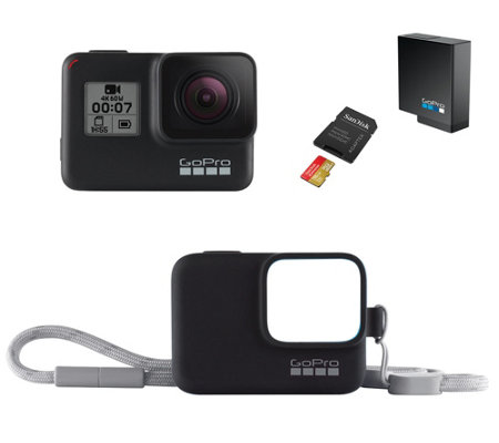 GoPro Hero7 Black Action Camera with Accessories