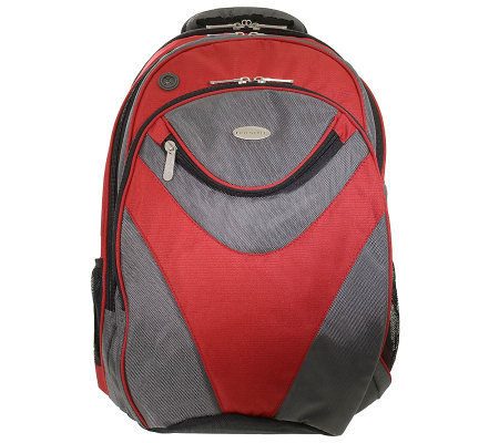 Eco Style Vortex Backpack with Checkpoint-Friendly Features