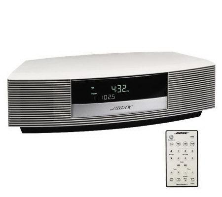 Bose Wave Radio Ii With Fm Amtuner Alarm Clock And Remote