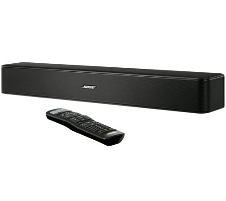 Bose Sound System >> Bose Solo 5 Television Sound System Qvc Com