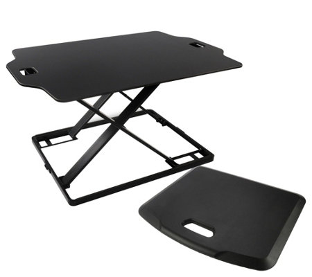 Royal SD22 Slim Sit & Stand Adjustable Desk With Standing Mat