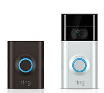 Ring Video Doorbell 2, HD Surveillance 3-Year Warranty - E232638