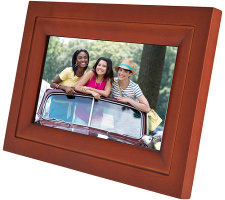 "WiFi 7"" Touchscreen Picture Frame with App, Pair up to 7 Devices"