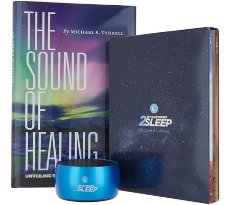 Wholetones 2Sleep Music Relaxation Bundle with Accessories