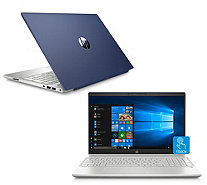 "HP Pavilion 15"" Touch Laptop AMD Quad Core 8GB RAM 1TB HDD with Voucher - E232240"
