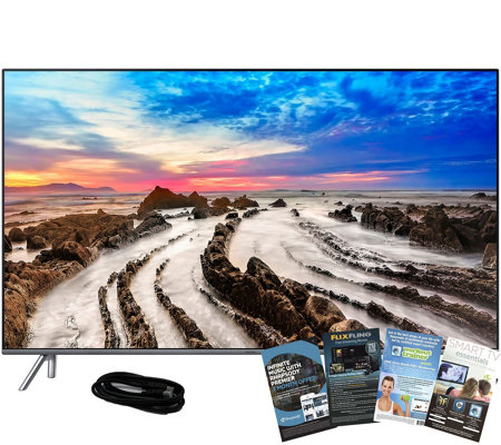 "Samsung 49"" LED Smart 4K HDR TV w/ HDMI and AppPack"