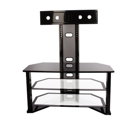 Z Line Design Flat Panel Tv Stand With Swivel Mount Qvc Com