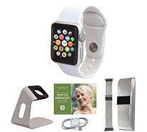 Apple Watch GPS Series 3 42mm w/ Extra Band, Accessories and Voucher - E232441