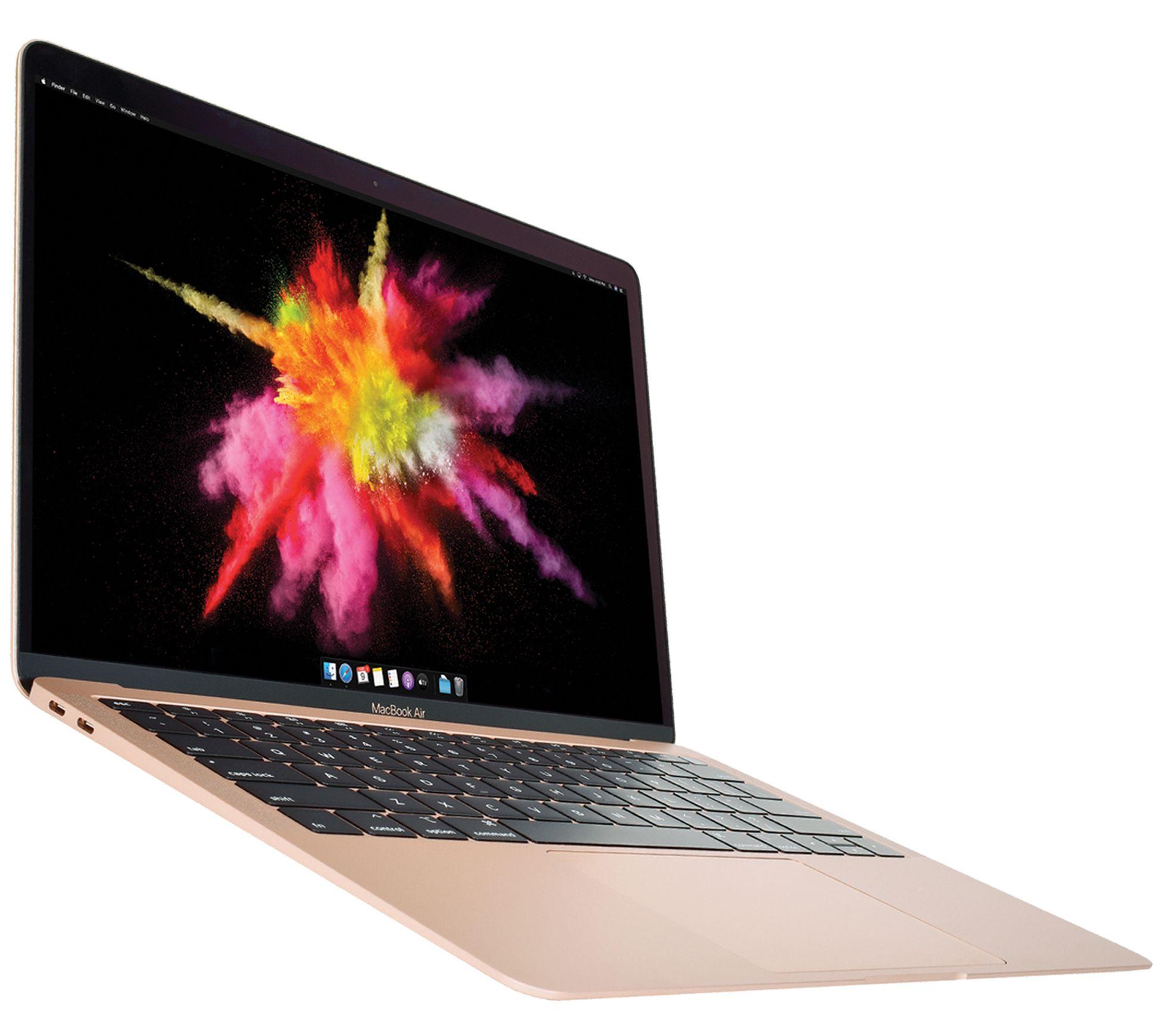 "2020 Apple MacBook Air 13"" Retina Core i3 256GB SSD with Accessories - QVC.com"