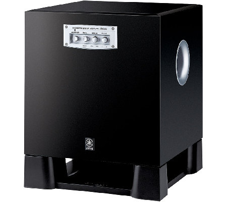 Yamaha 250W Powered Subwoofer with Magnetic Shielding