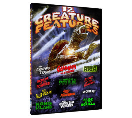 Monster Movie Pack - 12 Creature Features