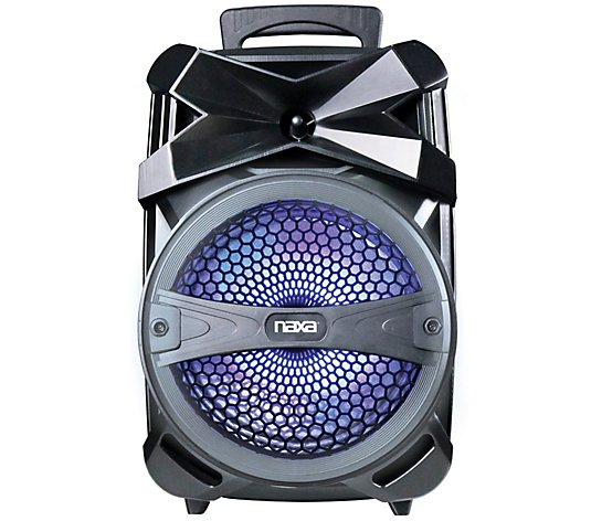 Naxa Bluetooth Portable Party Speaker with LEDLight Effects