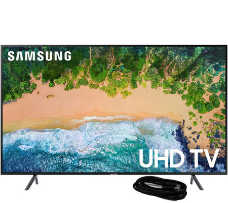 "Samsung 75"" Class LED HDR Smart Ultra HDTV & 6'L HDMI Cable"
