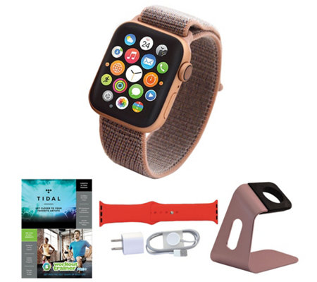 Apple Watch Series 4 GPS 44mm Sport Loop with Accessories