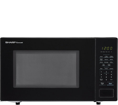 Sharp Carousel 1.1 Cu. Ft. 1000W Countertop Microwave Oven