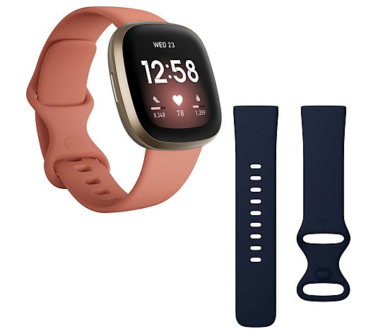 Fitbit Versa 3 Smartwatch & Activity Tracker with Small Band