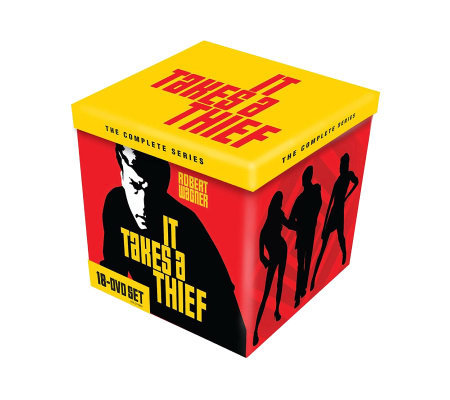 It Takes a Thief: The Complete Series 18-Disc DVD Set