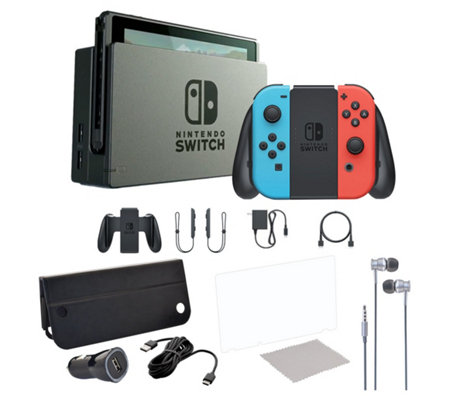 Nintendo Switch Console with Case & Accs.