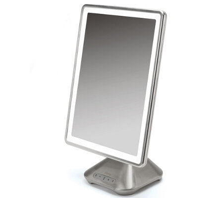 "iHome 10"" Flat Panel Portable TelescopingVanity Mirror"