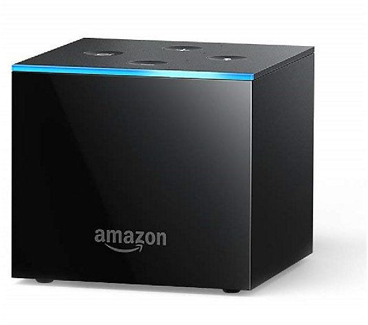 Amazon Fire TV Cube 4K with Alexa Voice Remote