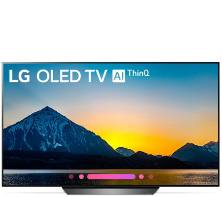 "LG 55"" 2018 4K OLED HDR Smart TV with AI ThinQ"
