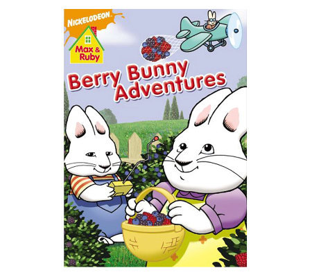 Max & Ruby: Berry Bunny Adventures DVD